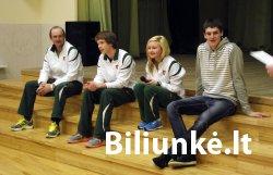 Biliūniečiai žiemos olimpinėse žaidynėse
