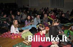 Nekomercinio kino vakaras Jono Biliūno gimnazijoje