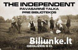 """Grupės """"The Independent"""" koncertas Anykščiuose!"""