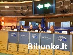 """""""Kuriame Lietuvą"""" dalyvių išvyka į Briuselį"""