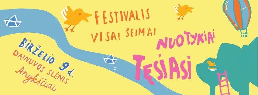 Savanorystė vaikų literatūros festivalyje
